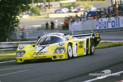 Паоло Барилла, Джон Уинтер, Клаус Людвиг, #7 Joest Racing Porsche 956