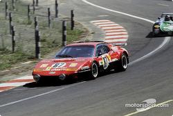 #87 Luigi Chinetti Sr. Ferrari 512 BB: Jacques Guérin, Jean-Pierre Delaunay, Gregg Young