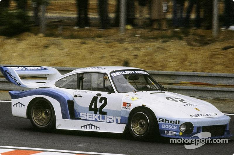 #42 Sekurit Racing Porsche 935/77: Edgar Dören, Dieter Schornstein, Götz von Tschirnhaus