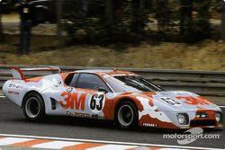 #63 Charles Pozzi/JMS Racing Ferrari 512 BB: Michel Leclère, Claude Ballot-Léna, Peter Gregg
