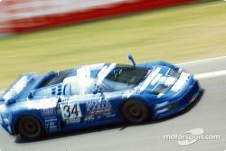 #34 Bugatti EB110S: Alain Cudini, Eric Hélary, Jean-Christophe Boullion
