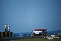 #75 Cunningham Racing Nissan 300ZX Turbo: Steve Millen, Johnny O'Connell, John Morton