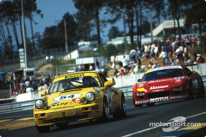 Carrera GT Tertre Rouge: #54 Porsche 911 Carrera RSR: Enzo Calderari, Lilian Bryner, Renato Mastropietro