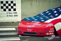 Автомобиль Chevrolet Corvette ZR-1 (№30) команды ZR-1 Corvette Team USA