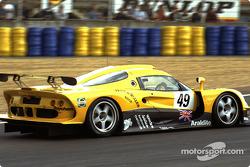 #49 Lotus Racing Lotus Elise GT1: Ян Ламмерс, Майк Хеземанс и Александр Грау