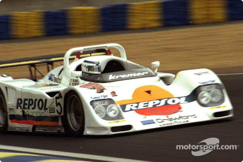 #5 Kremer Racing Kremer K8 Porsche: Tomas Saldana, Carl Rosenblad, Jürgen Lässig
