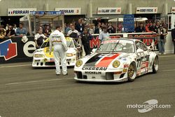 #77 Chéreau Sports Porsche 911 GT2: Jean-Pierre Jarier, Jean-Luc Chéreau, Jack Leconte