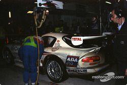 Pitstop #63 Viper Team Oreca Chrysler Viper GTS-R: Justin Bell, John Morton, Pierre Yver