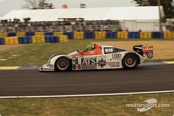 #8 La Filière Courage C36 Porsche: Emmanuel Clérico, Henri Pescarolo, Jean-Philippe Belloc