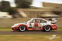 #73 Roock Racing Porsche 911 GT2: Manuel Mello-Breyner, Pedro Mello-Breyner, Tomas Mello-Breyner