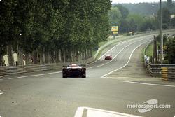 Acción de la carrera en Tertre Rouge