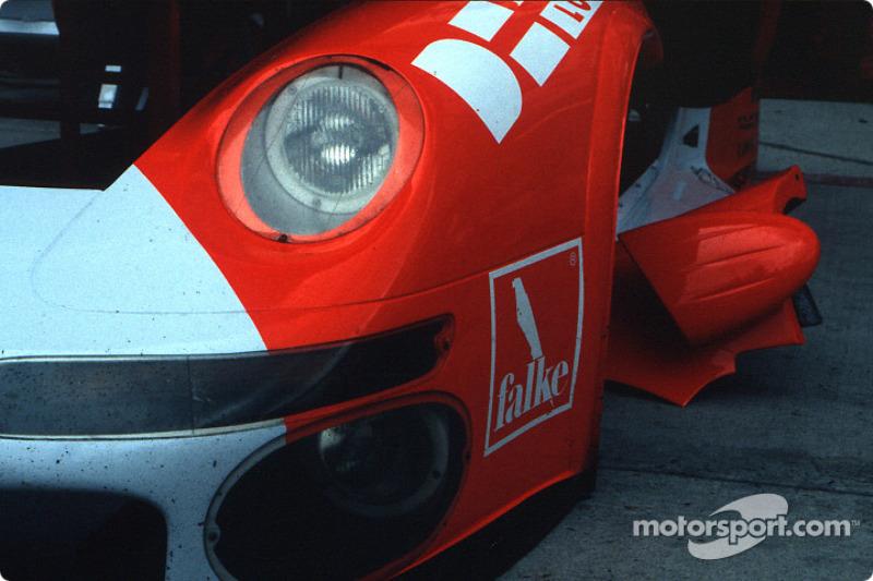 Detail of a Porsche 911 GT2
