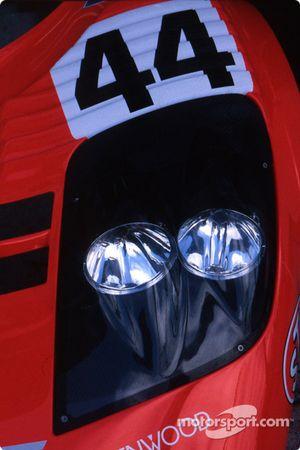 Feux de la McLaren F1 GTR BMW de l'équipe Lark McLaren