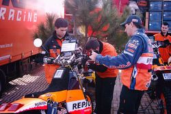 Andy Caldecott et Jordi Viladoms