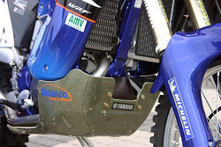 Yamaha Motor France: detail of the Yamaha WR450F