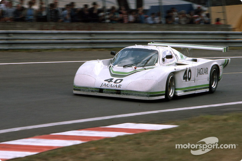 #40 Jaguar Group 44  Jaguar XJR5: Brian Redman, Jim Adams, Hurley Haywood