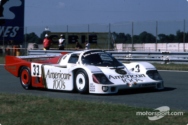 1985 Le Mans 24 Hours - #33 Fitzpatrick Porsche Team Porsche 956: David Hobbs, Jo Gartner, Guy Edwards
