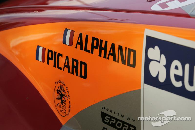 Détail de la Mitsubishi Pajero Montero Evolution MPR12 de Luc Alphand