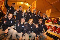 Volkswagen Motorsport: Jutta Kleinschmidt, Fabrizia Pons, Mark Miller, Dirk von Zitzewitz, Bruno Sab