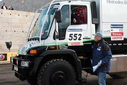 Le camion Kwikpower Mercedes-Benz de Udo Kuhn, Markus Reiter and Michael Zerwer