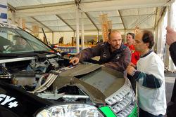 The Kwikpower Mercedes-Benz at scrutineering