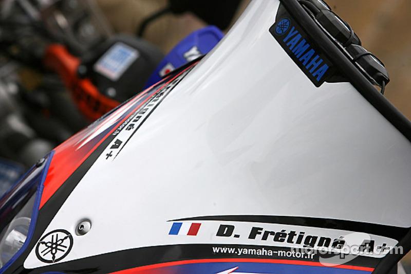 La Yamaha WR450F de David Frétigné