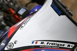 The Yamaha WR450F of David Frétigné