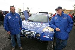 Jean-Louis Schlesser et François Borsotto