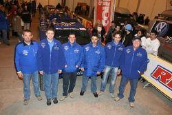 Equipe Gauloises Schlesser à l'assistance: Jean-Louis Schlesser, François Borsotto, Josep-Maria Servia, William Alcaraz, Thierry Magnaldi et Arnaud Debron