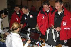 Exact-MAN team at scrutineering
