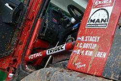 Mud on the Exact-MAN truck