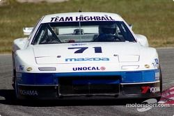 #71 Team Highball Mazda RX-7: Amos Johnson