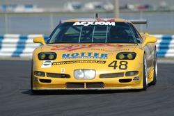 #48 WTF Engineering Corvette: Hans Hauser, Robert Dubler, Tino Seiler