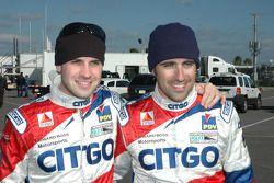 Marino et Dario Franchitti