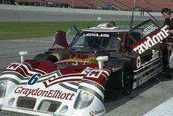 #6 Fusion Graydon Elliott Mears Lexus Riley: Ken Wilden, Paul Mears Jr., Mike Borkowski, Paul Tracy