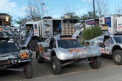 Vanguard Racing team at scrutineering