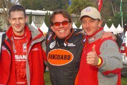 Sylvain Poncet, Ronn Bailey and Benoit Rousselot