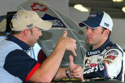 Chad Knaus et Jimmie Johnson