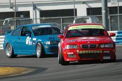 #09 Automatic Racing BMW M3: Jep Thornton, Robert Pellosie, David Russell, Joe Varde #99 Automatic Racing BMW M3: Jeff Segal, David Russell