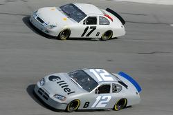 Ryan Newman y Matt Kenseth