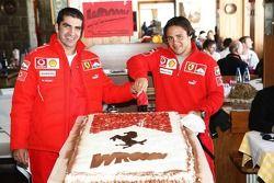 Marc Gene and Felipe Massa