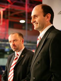 Mike Gascoyne et Luca Marmorini