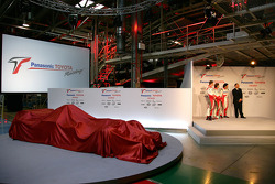 Toyota TF106 before unveiling