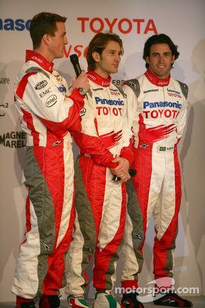 Ralf Schumacher, Jarno Trulli et Ricardo Zonta