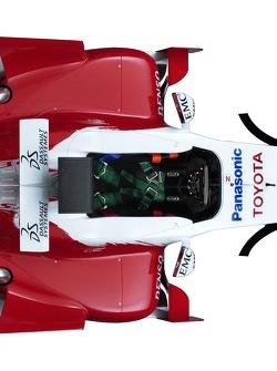 Détail de la Toyota TF106