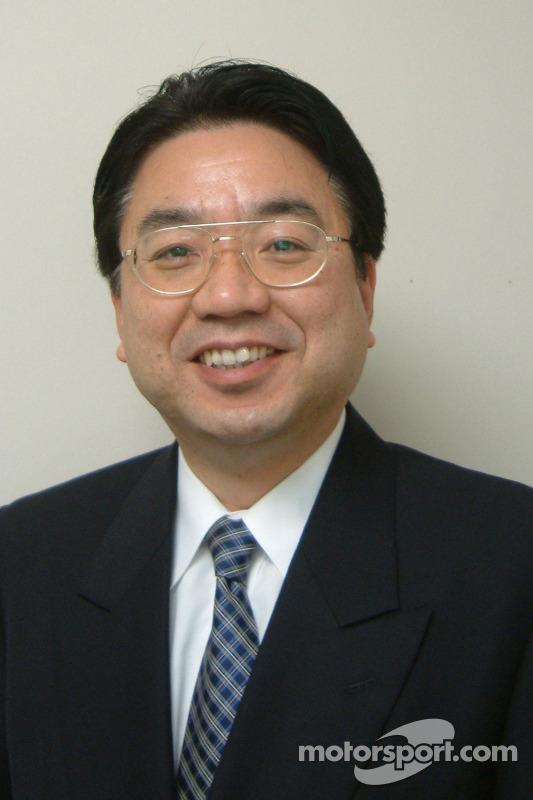 Yoshiaki Kinoshita, Genel Müdür, Motor Sport Division (Toyota Motor Corporation) veVice-Başkanı (Toy