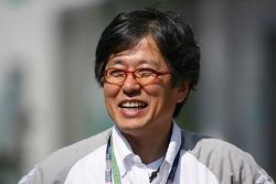 Touri Ueno, manager général, Motorsport département business (Toyota Motor Corporation)