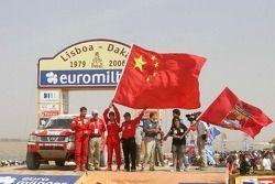 Podium Autos: Xu Lang et Fabian Lurquin