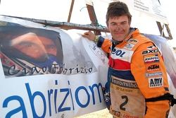 Dakar 2006: hommage à Fabrizio Meoni au