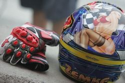 Casco de Jake Zemke